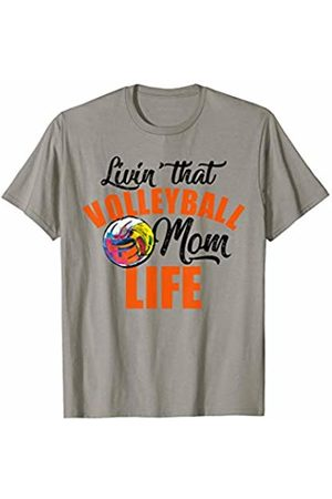 Hadley Designs Livin That Volleyball Mom Life for women mothers day Gift T-Shirt