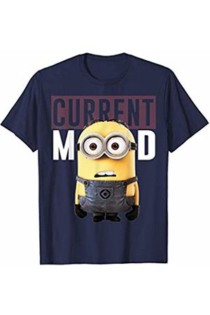 Minions Current Mood Maroon Minion Movie Graphic T-Shirt