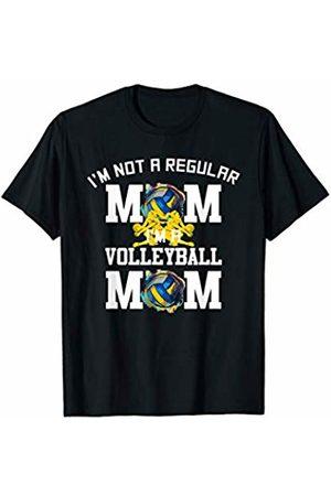 Hadley Designs Women T-shirts - Im Not A Regular Mom Im A Volleyball Mom for Women Funny T-Shirt