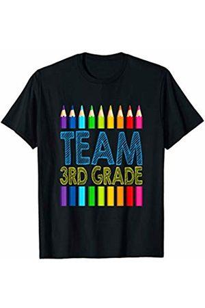 Team 3rd Third Grade Squad T Shirt Team 3rd Third Grade Squad Teacher Back To School Shirt T-Shirt