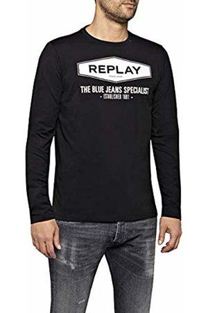 Replay Men's M3850 .000.2660 Long Sleeve Top, ( 98)