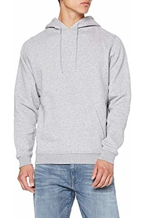 Build Your Brand Men's Heavy Hoody Jacket, Heather 00431