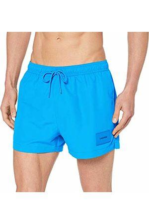 Calvin Klein Men's Short Drawstring Swim Trunks, (Ibiza 439)