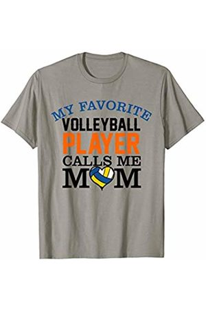 Hadley Designs My Favorite Volleyball Player Calls Me Mom for women mothers T-Shirt