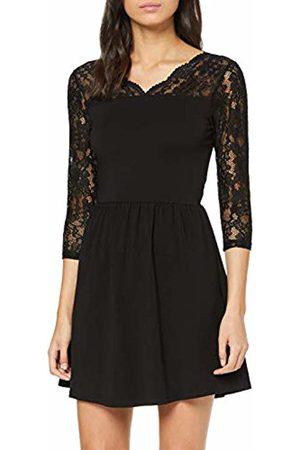 Only Women's Onlbetta L/s Lace Short Dress JRS Petite Party