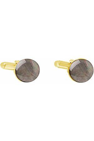 GemShine Men Gold Plated Cufflinks - 1654CBo
