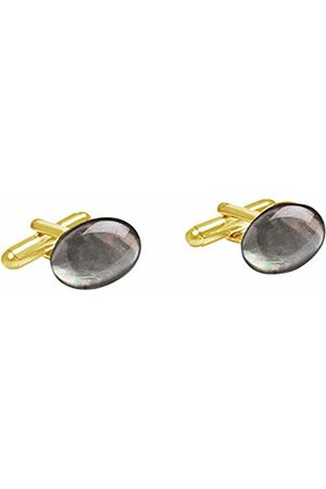 GemShine Men Gold Plated Cufflinks - 1658CBo