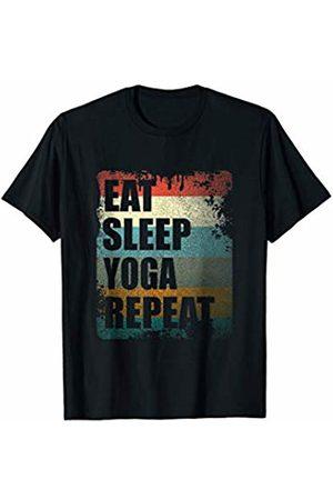 Vintage Ego Co Vintage Yoga Mindfulness Gift T-Shirt