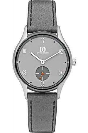 Danish Design Unisex Adult Analogue Classic Quartz Watch with Leather Strap DZ120718