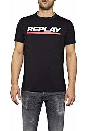 Replay Men's M3847 .000.2660 T-Shirt, ( 98)
