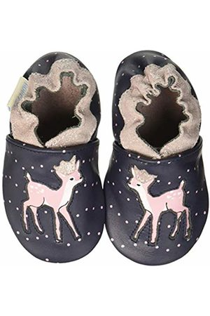 Robeez Baby Girls' Little Fawn Low-Top Slippers