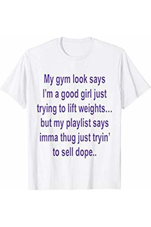 Gym T-Shirts Men T-shirts - My Gym Look Says T-Shirt