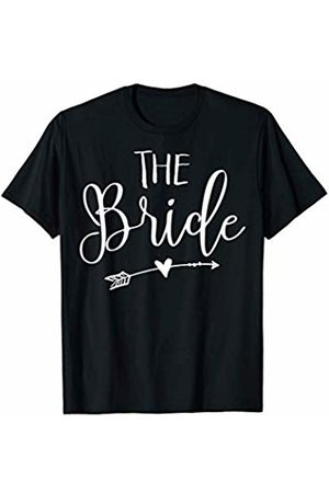 Cute Bridal Tee Shirts The Bride Bridal Shower Party Gift for Games T-Shirt