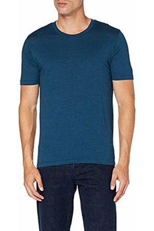 Selected Homme NOS Men's Slhtheperfect Mel Ss O-Neck Tee B Noos T-Shirt, ( Stripes: Dark Sapphire)