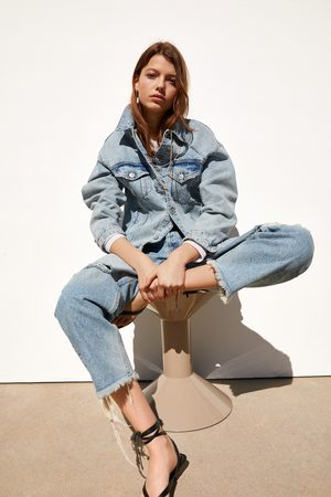 Zara Oversized denim jacket