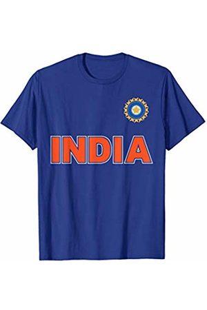 Cricket of the World Team India Cricket (Orange Lettering) T-Shirt