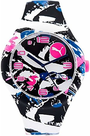 Puma Womens Analogue Classic Quartz Connected Wrist Watch with Silicone Strap PU103001022