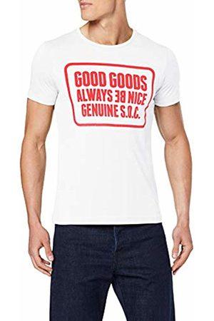 s.Oliver Men's 13.907.32.7664 T-Shirt, 0100