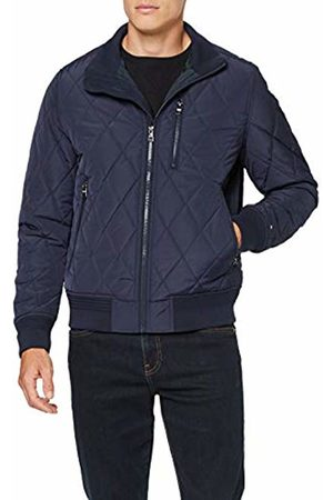 Tommy Hilfiger Men's Diamond Quilted Bomber Jacket, Maritime 431
