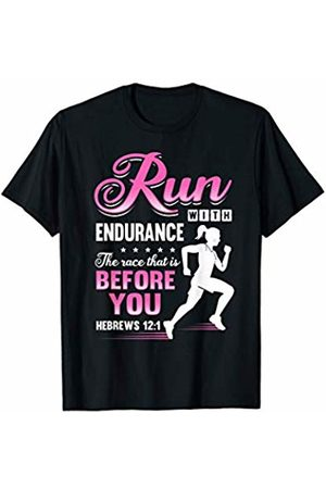 Run With Endurance Runner's Gifts Run With Endurance The Race T-Shirt