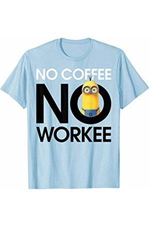Minions No Coffee No Workee Tired Minion Graphic T-Shirt