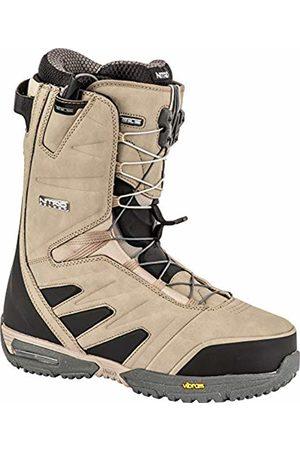 Nitro Men's Select TLS '19 Premium Snowboardschuh Snowboardboot mit Schnellschnürsystem Highend Freeride Carving Softboot Boots