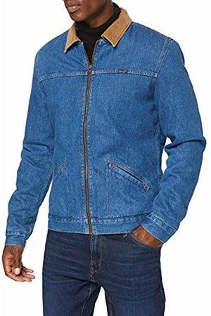 Wrangler Men's Hawkins Jacket Mid Denim
