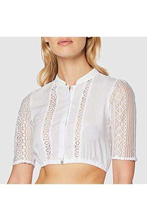 Stockerpoint Women's Bluse B-8065 Trachtenblusen, weiß