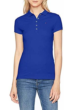 Tommy Hilfiger Women's New Chiara Str Pq Polo Ss Shirt