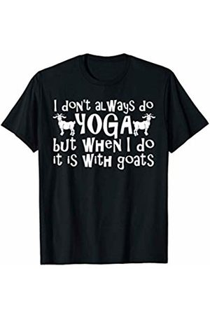 Goat Collection by Windy Ridge Shirts Men T-shirts - Goat Yoga T-Shirt