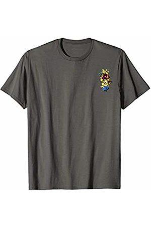 Minions Hat Of Fruit Minion Pocket Print T-Shirt
