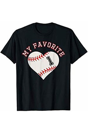 Baseball Player My Favorite Star Fan Shirt Gifts Baseball Player 1 Jersey Outfit No #1 Sports Fan Gift T-Shirt