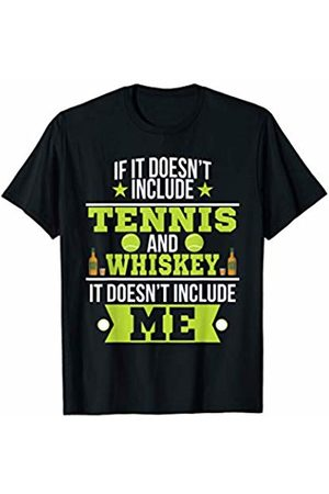 Funny Whiskey Tees Doesn't Involve Tennis & Whiskey Sports Fan T-Shirt