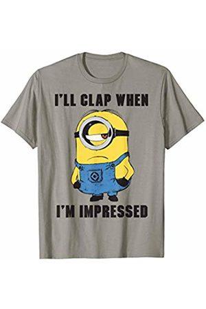 Minions I'll Clap When I'm Impressed Minion Graphic T-Shirt