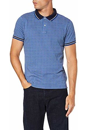 Tommy Hilfiger Men's Ao Micro Print Slim Polo Shirt