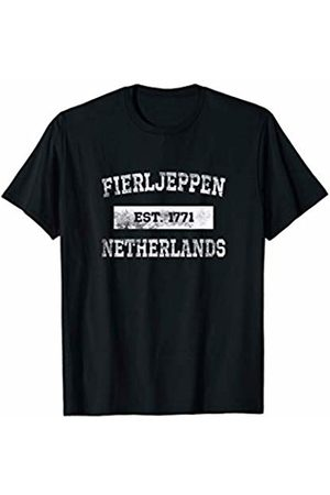 Fierljeppen Dreake Fierljeppen Far Leaping Sport Est. 1771 Netherlands T-Shirt