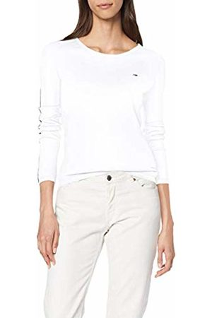 Tommy Hilfiger Women's Tjw Contrast Piping Sweater Sweatshirt, Classic 100