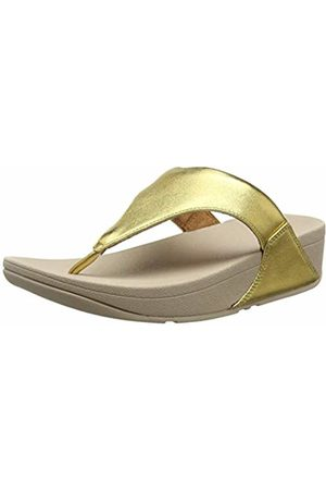 FitFlop Women's Lulu Leather Toepost Open Toe Sandals, (Artisan 667)