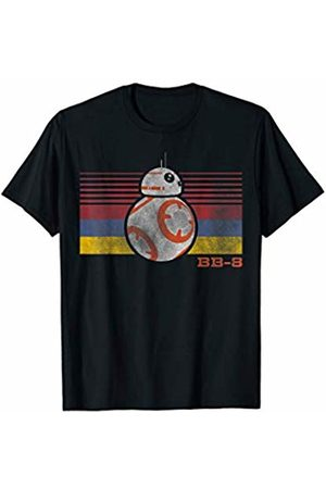 STAR WARS BB-8 Retro Stripes Episode 7 Graphic T-Shirt