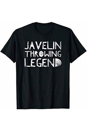 BullQuack Javelin Javelin Throwing Legend - Thrower Quote Saying Sport Athlete T-Shirt