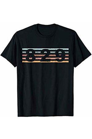 829 Area Code Retro Dominican Republic Caribbean T-Shirt