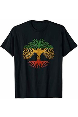 Ancient Cosmic Esoteric Symbols Divine Protection Rasta Colorful Tree of Life Symbol Spiritual Yoga T Shirt T-Shirt