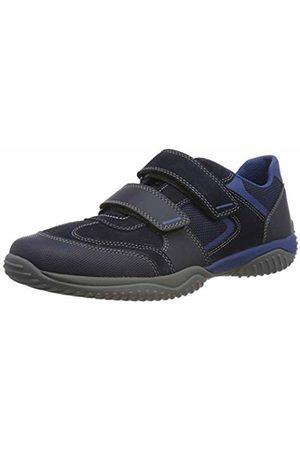 Superfit Boys' Storm Low-Top Sneakers, Blau 81