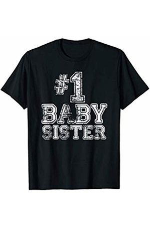 Number One #1 Family Gift Tees #1 Baby Sister - Number One Sports Mother's Day Gift T-Shirt
