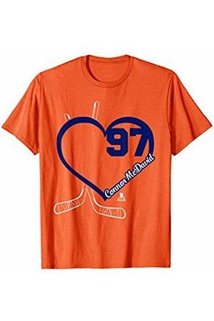 FanPrint Connor McDavid Heart Team T-Shirt - Apparel