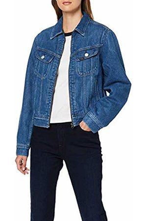 Lee Women's Zip Cropped Rider Denim Jacket