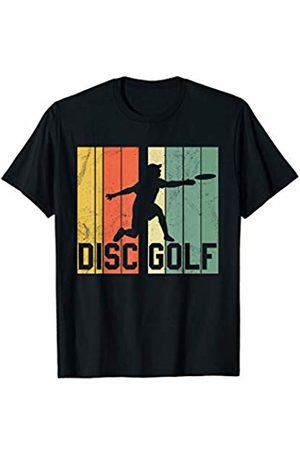 Disc Golf T-Shirts Co. Disc Golf Vintage Retro Gift T-Shirt