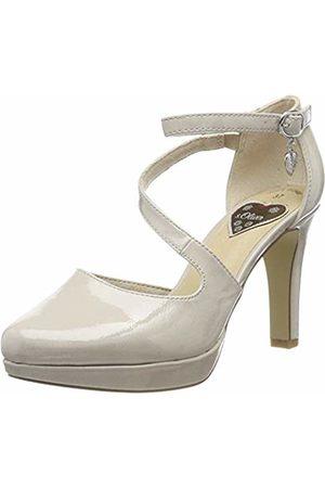 s.Oliver Women's 5-5-24420-33 Ankle Strap Heels, Lt Patent 219
