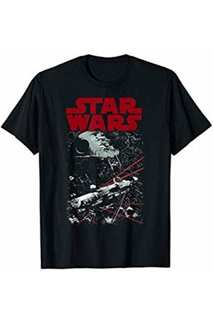 STAR WARS Tie Fighters Chase Down Falcon Graphic T-Shirt