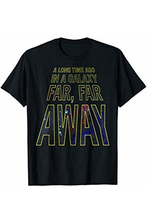 STAR WARS Opening Crawl Scrolling Text Graphic T-Shirt